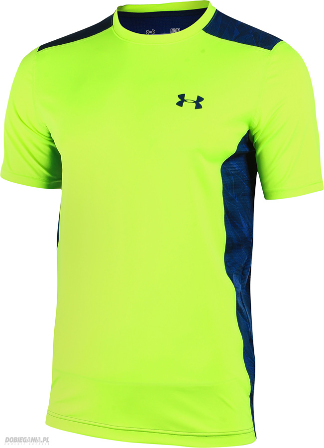 2ad775342 Under Armour T-shirt Raid-SS Safety Yellow - Ubrania męskie do ...