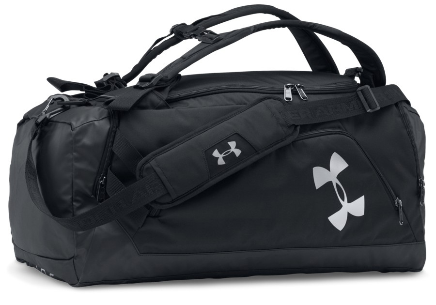 6ac6ca8f2118b Under Armour Undeniable Backpack Duffel MD Black White - Torby sportowe