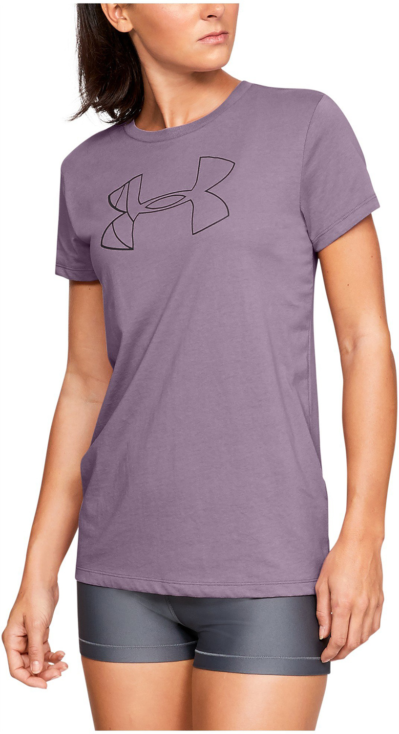 d591348fe Under Armour Graphic Classic Crew Purple - Ubrania damskie