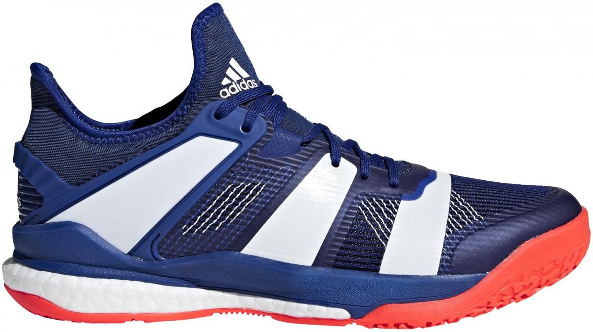 90fd9237fc37d Adidas Stabil X Mystery Inc   White - Buty do badmintona - męskie ...