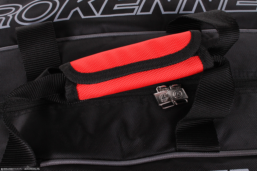 1dfa1abdb477df Prokennex Triple Thermo Bag Black/Red - Torby na rakiety