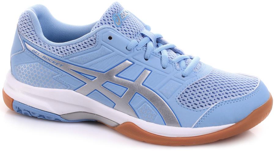 acf8bf67dd11c Asics Gel-Rocket 8 Blue/Silver/White - Buty damskie do badmintona ...