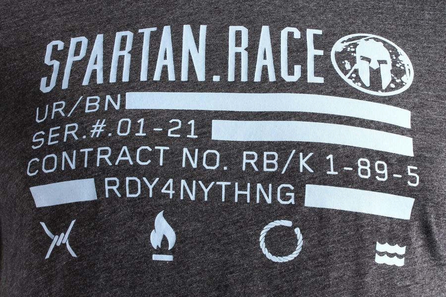 Reebok Spartan Race Short Sleeve Tee Grey