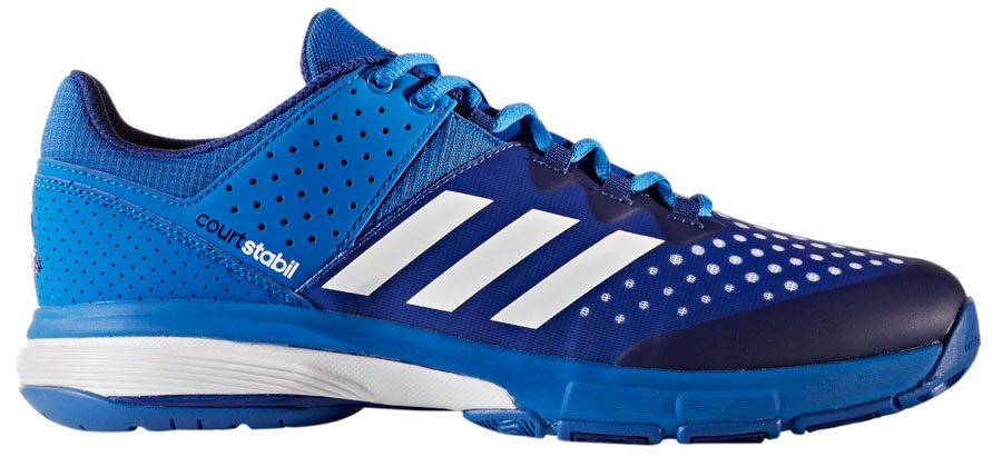 81b55fb5b3c0e Adidas Court Stabil Blue - Buty do badmintona - męskie - sklep