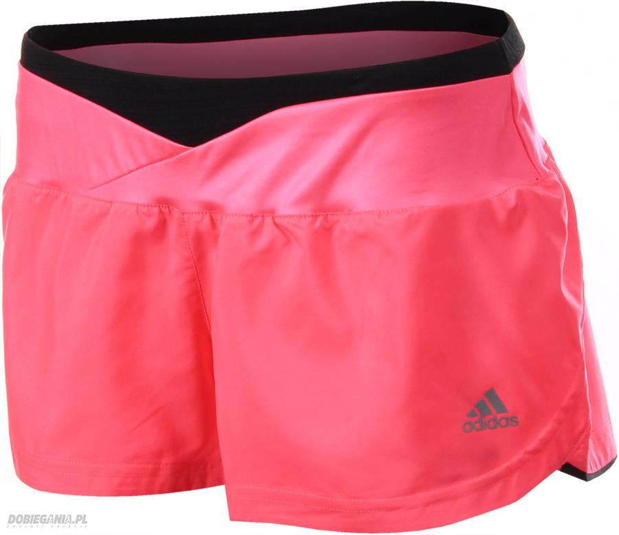 wiele modnych najlepiej online nowy produkt Adidas Szorty Supernova Glide Różowe