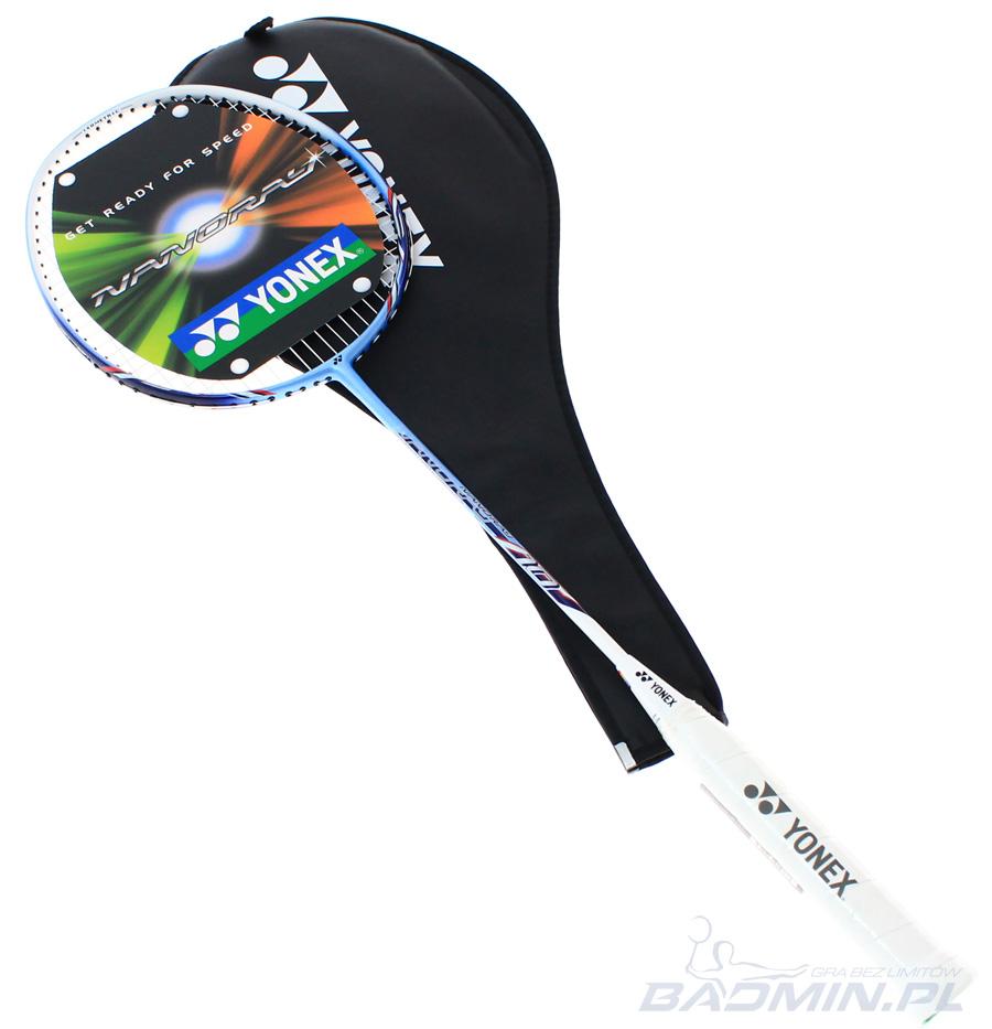 Yonex Nanoray 10 Niebieska - Rakiety do badmintona - sklep ...