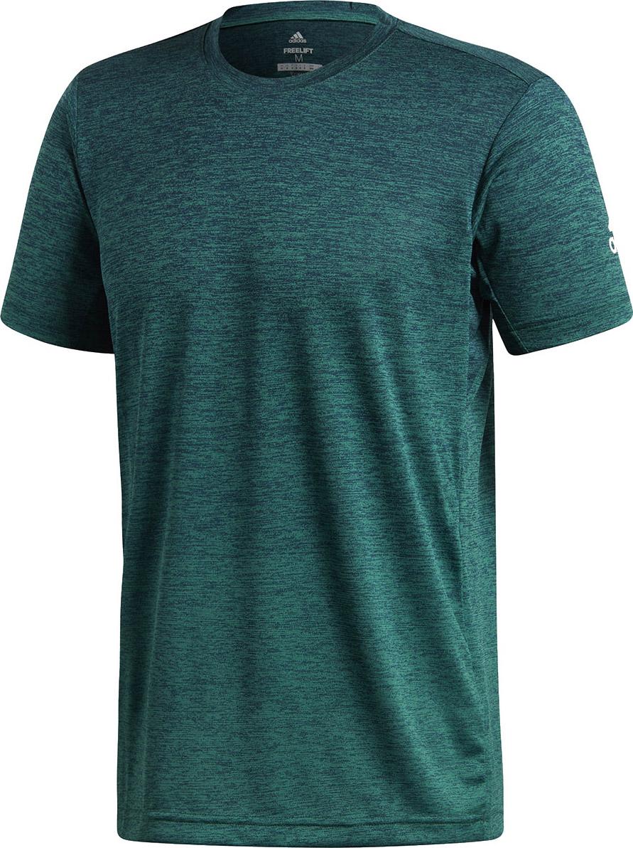 aae3ec860f3c9c Adidas Freelift Gradient Tee Green - Ubrania męskie do Badmintona ...