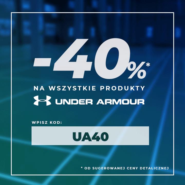 Under Armour - 40% z kodem UA40
