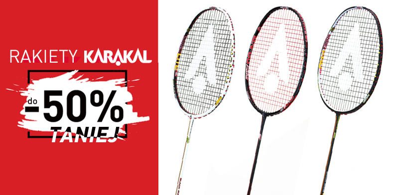 Rakiety Karakal do -50%