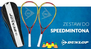 Zestaw DUNLOP do Speed Badmintona
