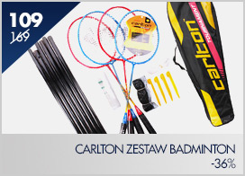 Zestaw do badmintona  CARLTON ZESTAW POWERBLADE TOURNAMENT 100 C