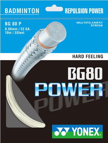 Yonex BG 80 Power - box - biały - Pojedyncze