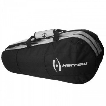 Harrow Racket Bag 6R Black / Silver