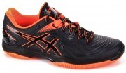 Ascis Gel Blast FF Black Orange buty do badmintona