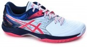 Asics Blast FF White/Blue buty do badmintona damskie