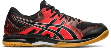 ASICS Gel-Rocket 9 Black / Fiery Red