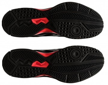 ASICS Gel-Rocket 9 Black / Sunrise Red