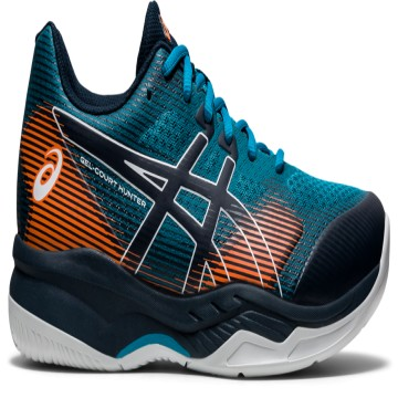 ASICS Gel-Court Hunter 2 Teal Blue / French Blue