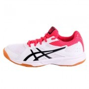 Asics Upcourt 3 White / Pixel Pink buty do badmintona damskie