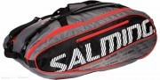 Salming ProTour 12 Racket Bag Bk/Rd torba do badmintona