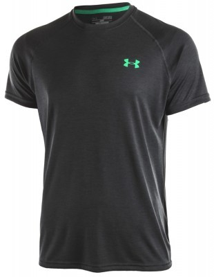 koszulka męska Under Armour Tech Short Sleeve Tee Grey/Green