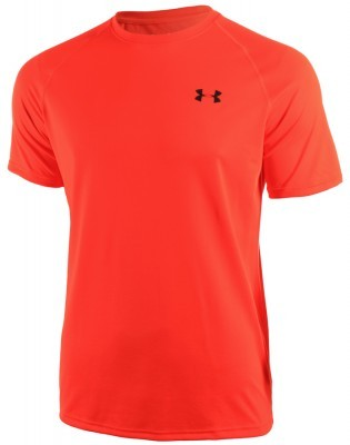 koszulka męska Under Armour Tech Short Sleeve Tee Orange