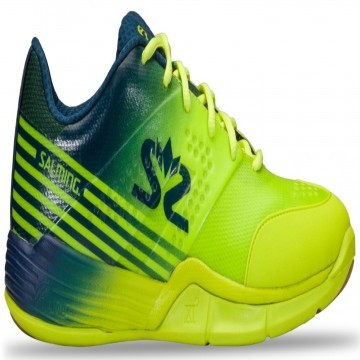 Salming Viper 5 Lime Punch / Poseidon Blue