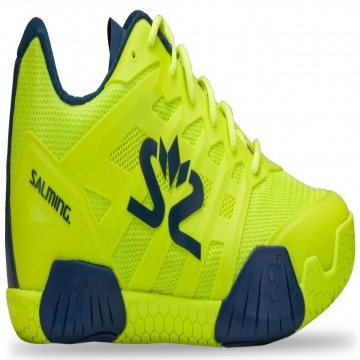 Salming Hawk 2 Lime Punch / Poseidon Blue