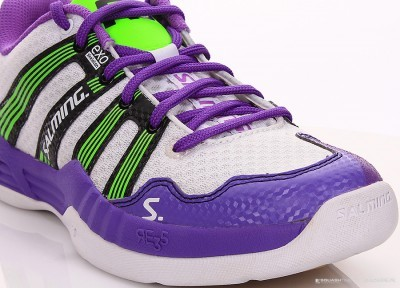 Salming Race R5 2.0 Women Purple/White buty do badmintona damskie