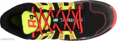 Salming Race R9 Mid 2.0 Black/Red buty do badmintona