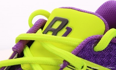 Salming Race R1 2.0 Purple buty do badmintona