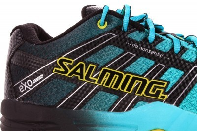 Salming Race X Turquoise buty do badmintona