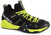 Salming Kobra Mid Black Yellow buty do badmintona