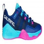 Salming Kobra 2 Women Blue Pink buty do badmintona damskie