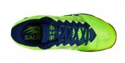 Salming Hawk Shoe Men Fluo Green Navy Blue buty do badmintona