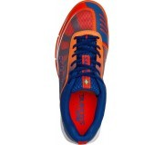 Salming Falco Men Blue Orange buty do badmintona