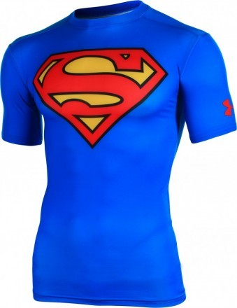 Under Armour Alter Ego Compression Shortsleeve Superman