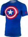 Under Armour Men's Alter Ego Compression Shortsleeve Captain America