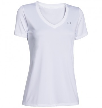Under Armour Tech SS White