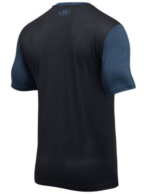 koszulka męska Under Armour T-shirt Raid-SS Blue Black