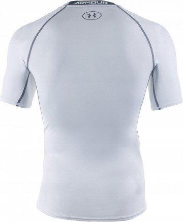 Under Armour Heatgear Armour Compression SS Biała