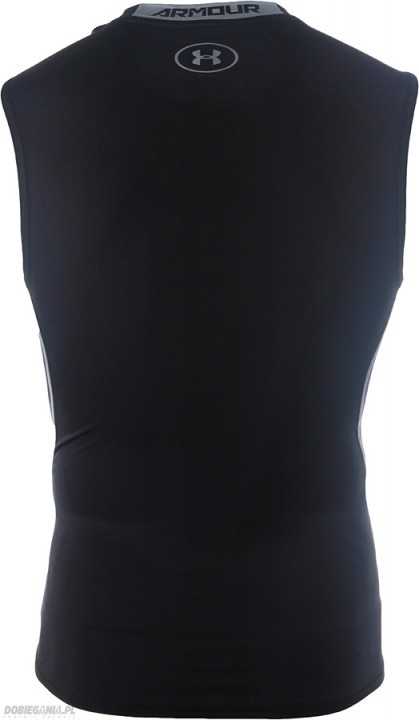 Heatgear Armour Compression Sleeveless Czarny