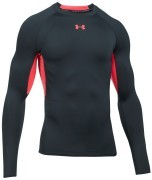Under Armour HeatGear Longsleeve Grey Red