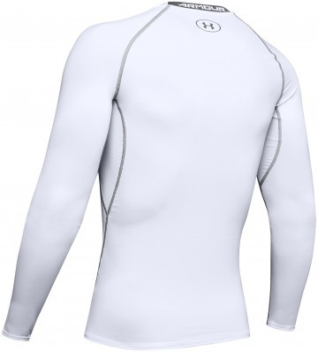 Under Armour HeatGear Long Sleeve White
