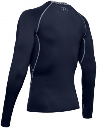 Under Armour UA HG Armour LS Navy