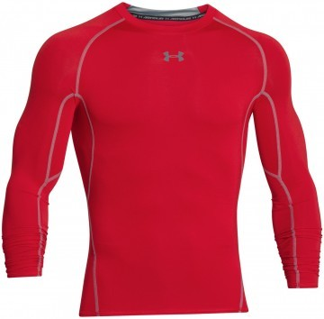 Under Armour HeatGear Long Sleeve Red