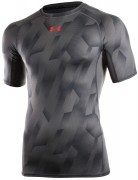 koszulka męska Under Armour HeatGear Armour Printed ShortSleeve Grey