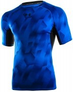 koszulka męska Under Armour HeatGear Armour Printed ShortSleeve Blue