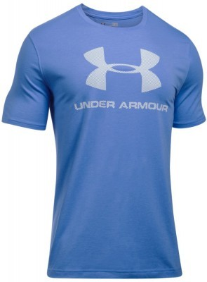 koszulka męska Under Armour Charged Cotton® Sportstyle Logo T Blue