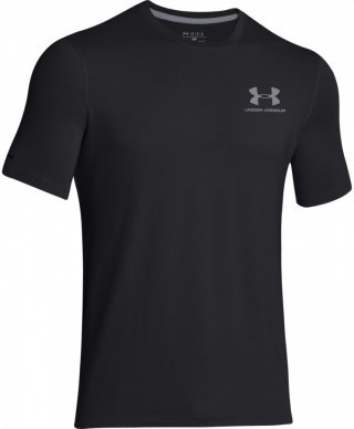 koszulka męska Under Armour CC Left Chest Lockup Black